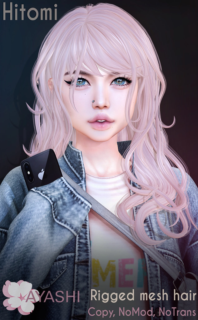 [^.^Ayashi^.^] Hitomi hair special for FaMESHed
