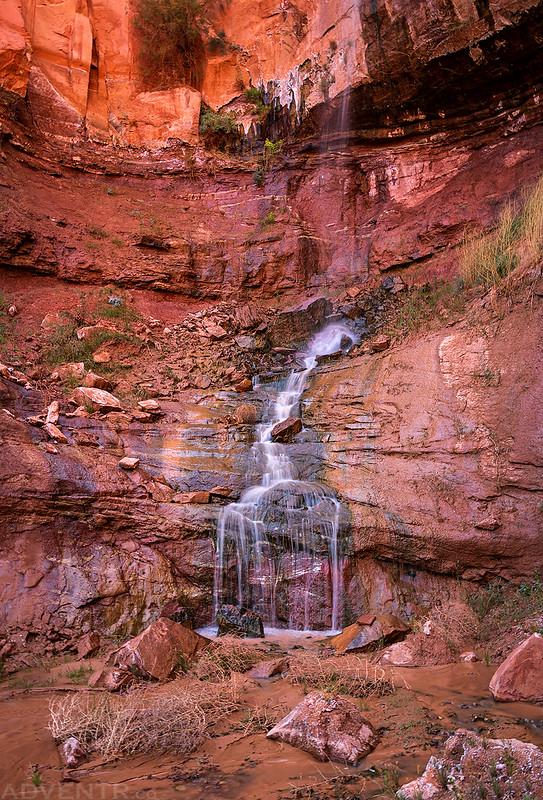 Kitchen Canyon Falls