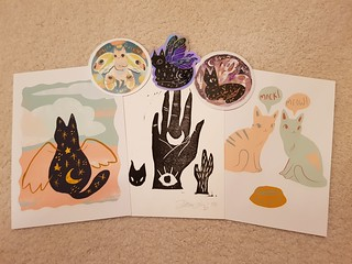 Prints and Stickers from BunnyDee