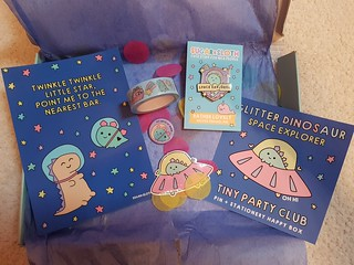 Glitter Dinosaur Space Explorer Tiny Party Club from Sugar and Sloth