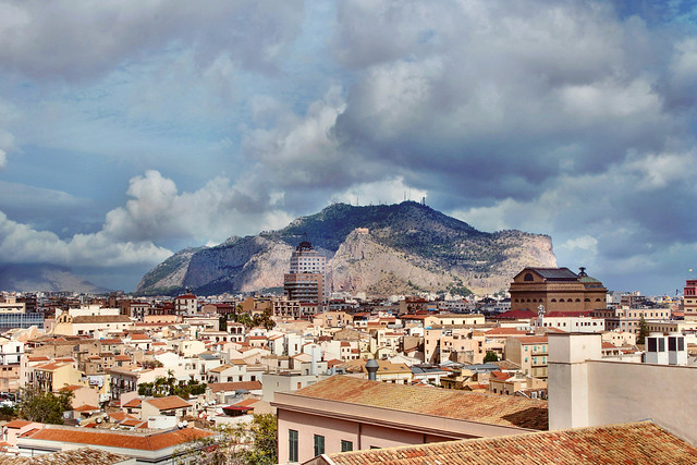 Palermo-Italy - view from the Cathedral