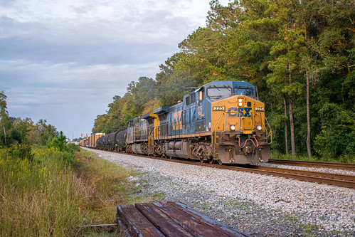 ge cw44ac csx csxt railroad callahan florida