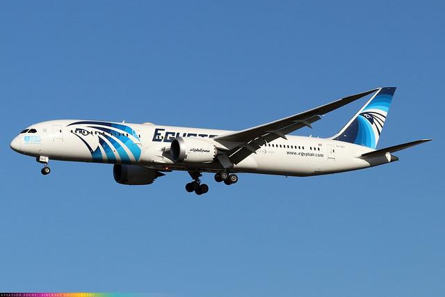 SU-GEU  -  Boeing 787-9 Dreamliner  -  LHR/EGLL 4/11/20