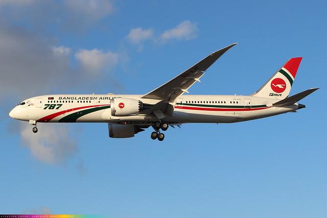 S2-AJX  -  Boeing 787-9 Dreamliner  -  Bangladesh Airlines  -  LHR/EGLL 4/11/20