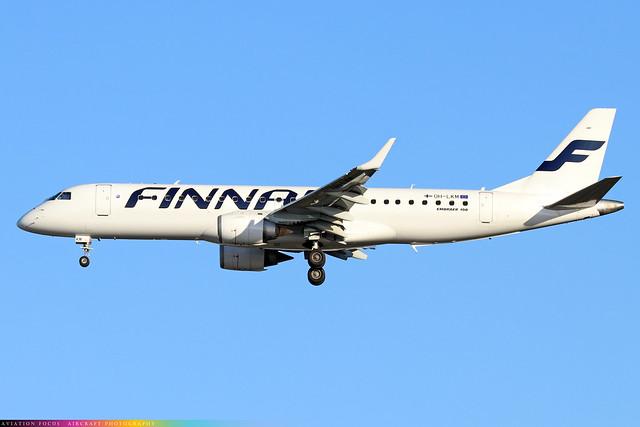 OH-LKM  -  Embraer E190LR  -  Finnair  -  LHR/EGLL 4/11/20