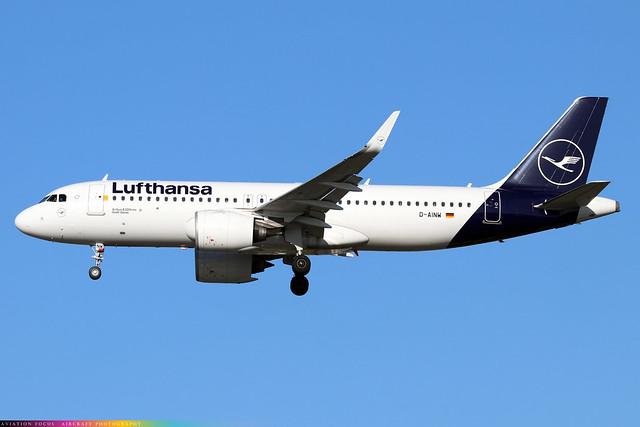 D-AINW  -  Airbus A320-271N  -  Lufthansa  -  LHR/EGLL 4/11/20
