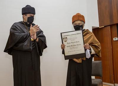 Doctor Honoris Causa Arq. Agustín Hernández Navarro