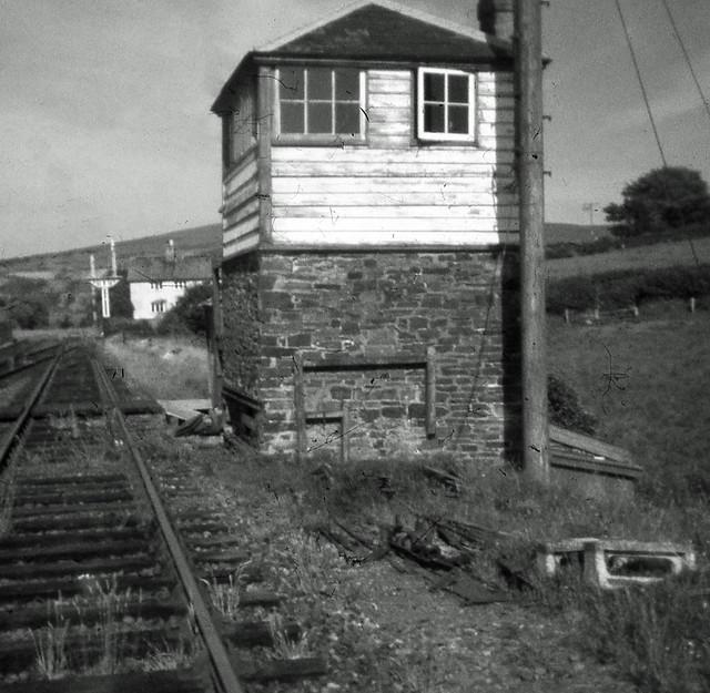 Meldon Junction Signal Box 1968