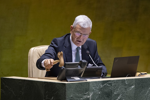 General Assembly Hears Report of International Court of Justice | by United Nations Photo
