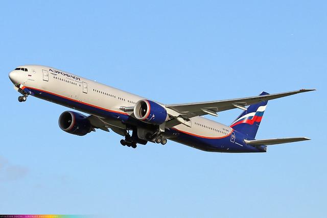VP-BPG  -  Boeing 777-3M0(ER)  -  Aeroflot  -  LHR/EGLL 4/11/20