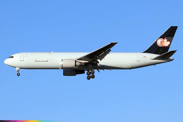 C-FCAE  -  Boeing 767 35BDSF(ER)  -  Cargojet  -  LHR/EGLL 4-11-20