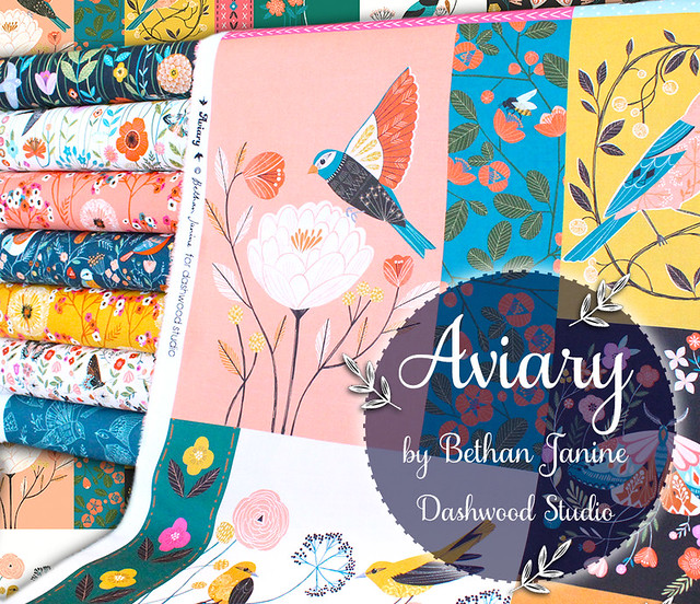 Dashwood Studio Aviary Collection by Bethan Janine