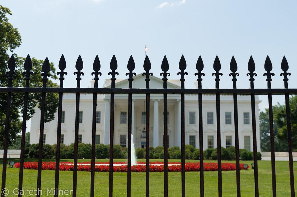 美國白宮。圖片來源:Gareth Milner(CC BY 2.0)