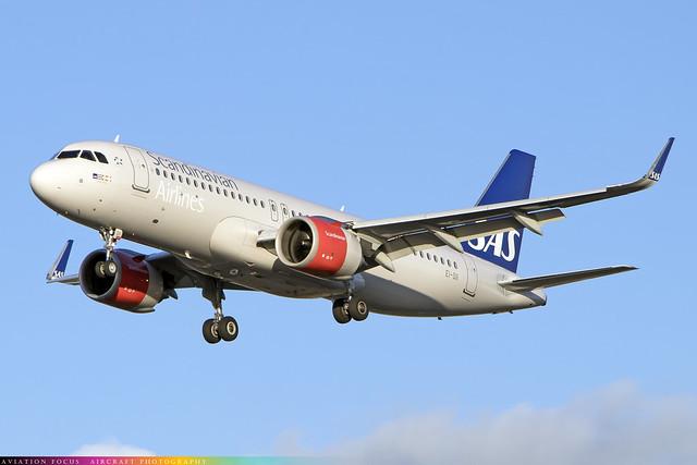 EI-SII  -  Airbus A320-251N  -  Scandinavian Airlines  -  LHR/EGLL 4-11-20