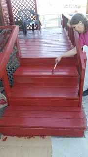 Painting the Steps
