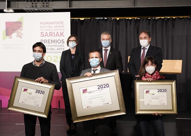 Eusko Ikaskuntza - Laboral Kutxa Saria 2020