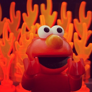 Elmo Rise | by Si-MOCs