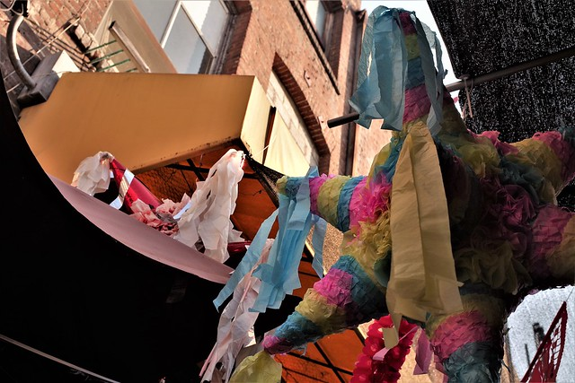 Pinata In The Alley