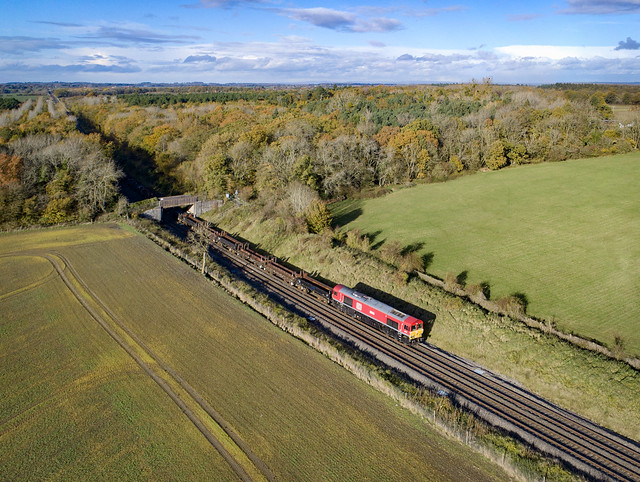 66175 passing Besford