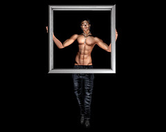 GIFT MALE POSE: *AAP* Framed (M)...