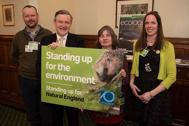 Natural England report Parliament launch, March 2019