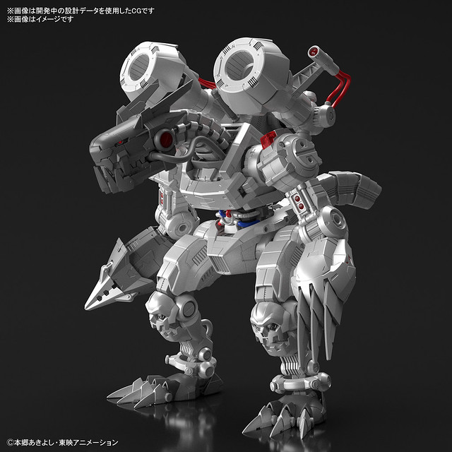 「Figure-rise Standard Amplified 無限龍獸」明年3月發售 曾經最強的數碼獸即將登場!
