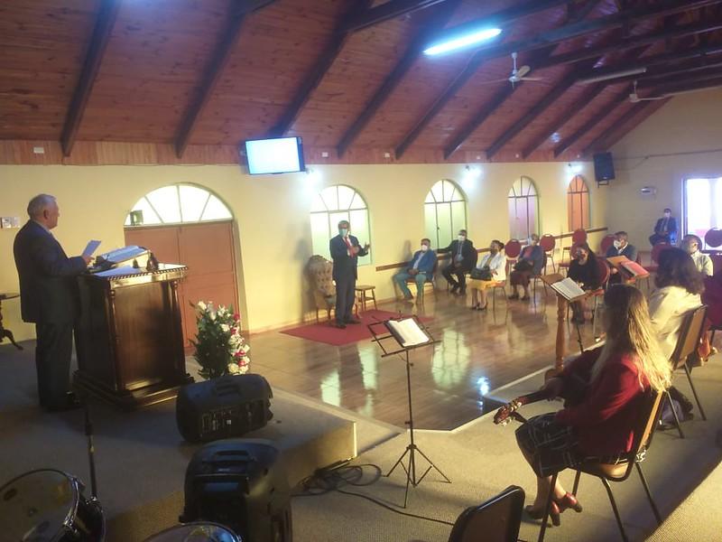 Día de Victoria en iglesia de Florida