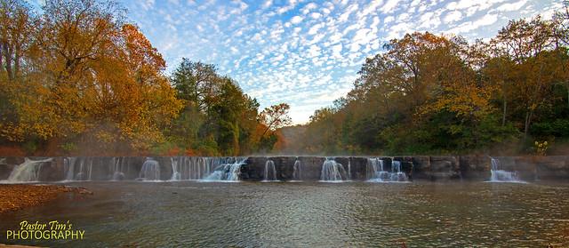 Natural Dam Falls Pano 1041