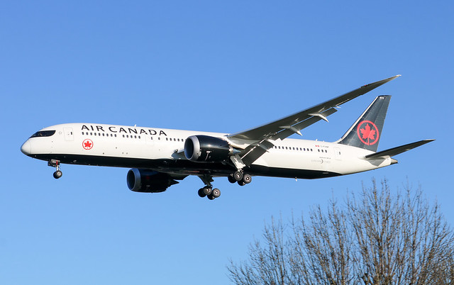 C-FVNF Boeing 787-9 Dreamliner Air Canada