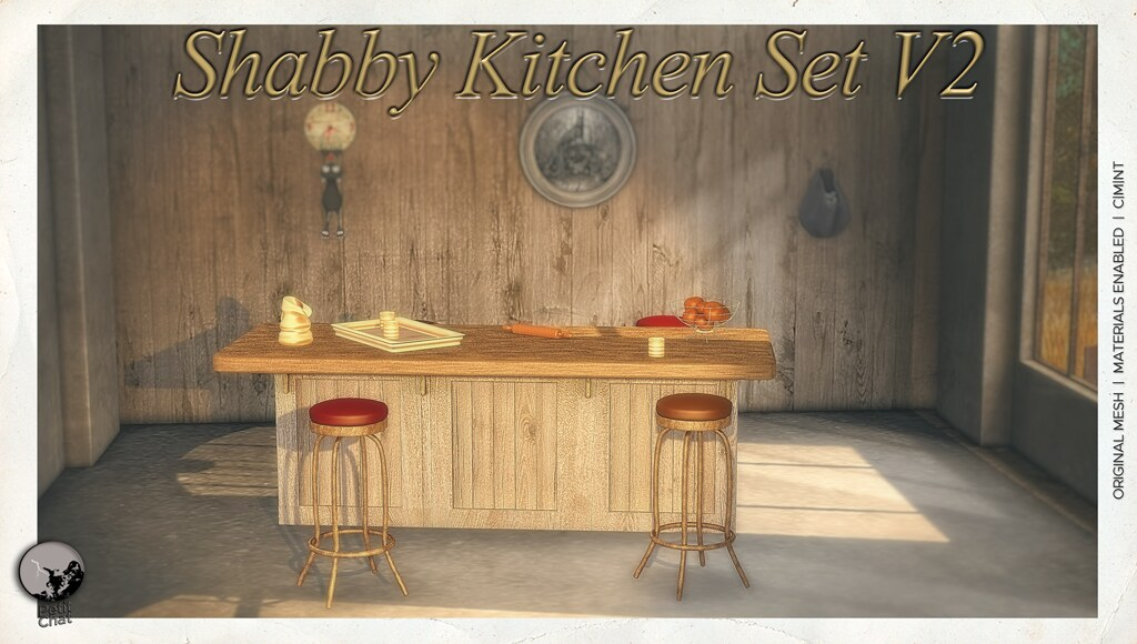 November groupgift : exclusive new version of the Shabby Kitchen Set
