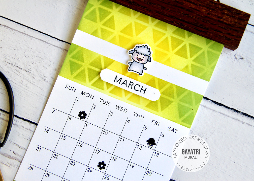 Mar Calendar closeup1