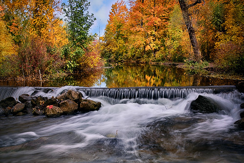 staycalminthemiddleofturbulence turbulence turbulentflow autumncolours autumn fallcolours fall waterfalls water reflection calm autumnleaves sixteenmilecreek creek millpond livingstonpark miltonontario canada canon5dmarkiii ef2470mmf28liiusm longexposure leefilters landscape colours lifeng
