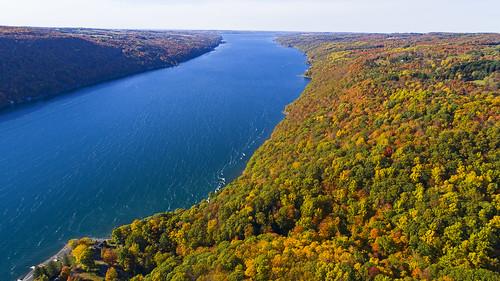 tbt thursday fall autumn foliage beautiful colorful life flx skaneateles nature landscape outdoors aerial flight flying canon 2020 dji
