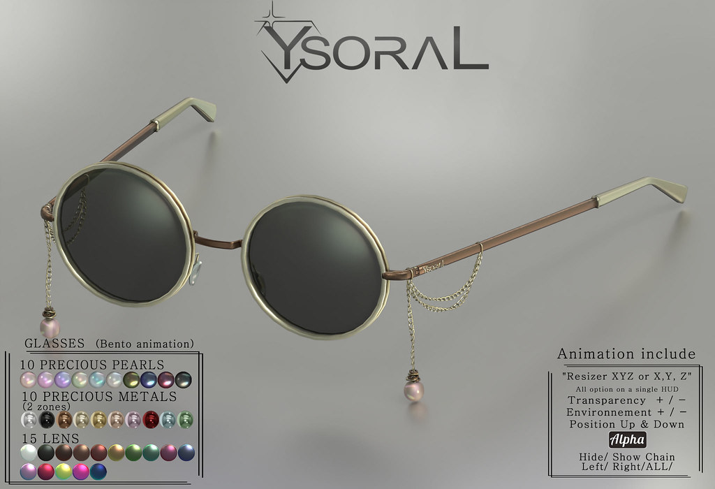 || YsoraL Giveaway || Luxe Glasses Margaux 💖💋💕😘