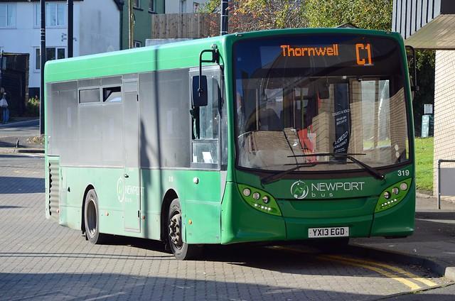 Newport Bus YX13 EGD, Chepstow