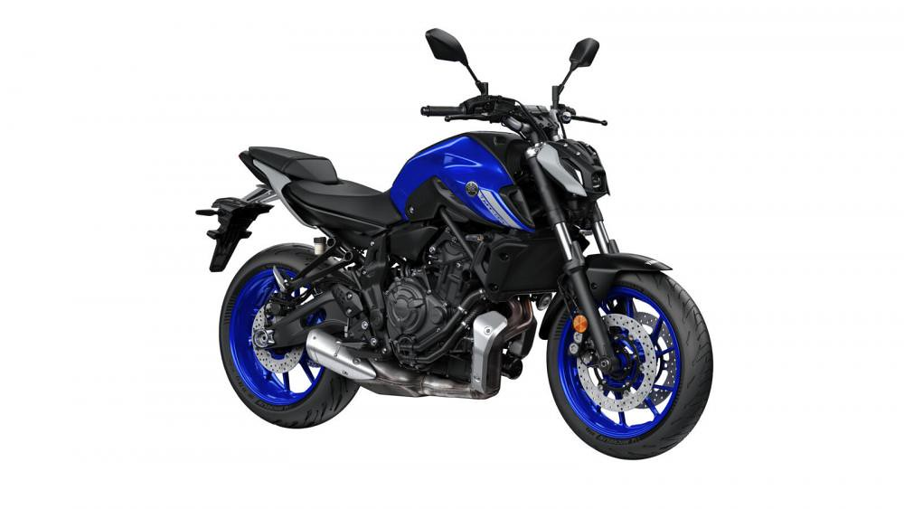 New Yamaha MT-07 2021 Icon Blue