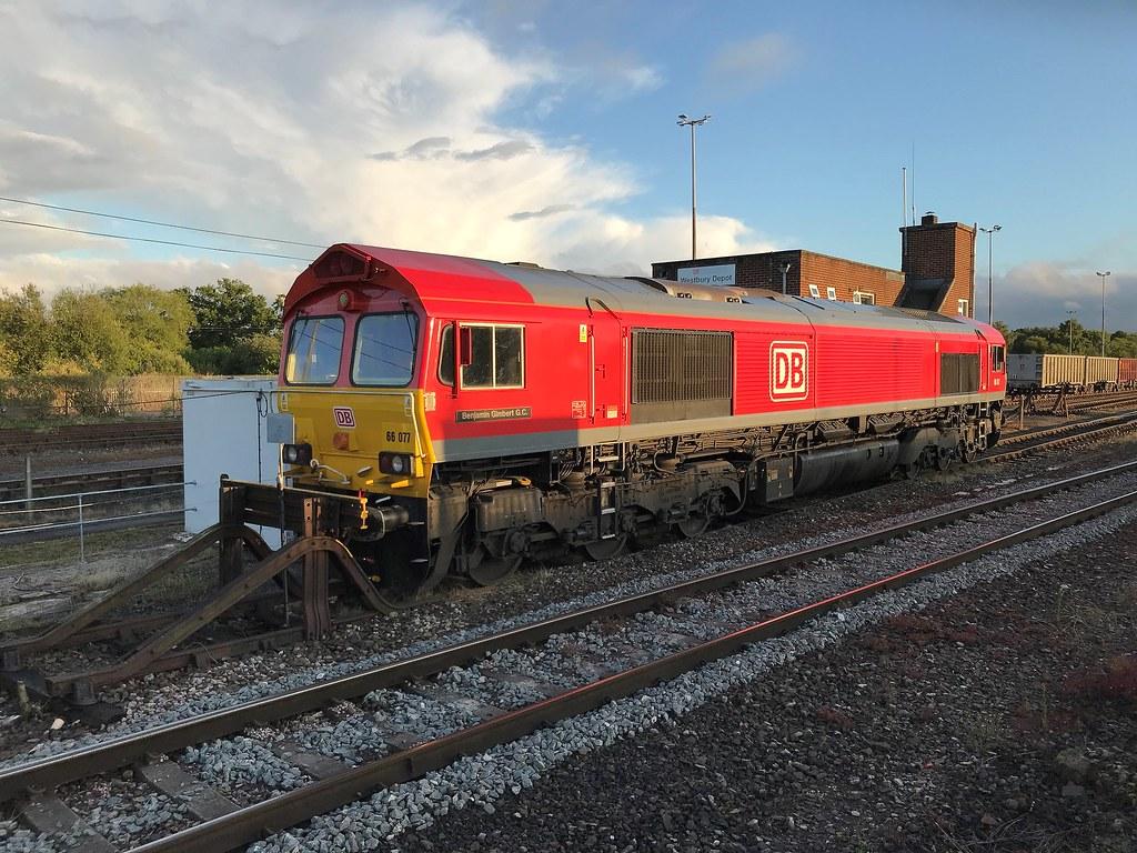 DB 66077 at Westbury