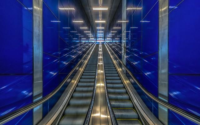 blue way up