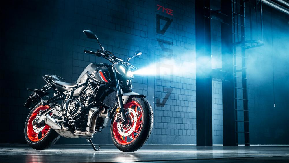 New Yamaha MT-07 2021