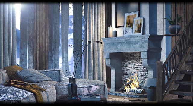 Soul2Soul - Tuscan Fireplace Set
