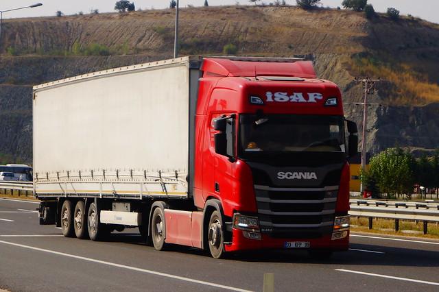 Scania R410 Euro6 High Roof 7-Series 4x2 LA (2019) - Isaf Tarim Hayvancilik Nakliyat TIC. Sanayi ve LTD. ŞTI. Silifke İlçesi, Mersin ili, Akdeniz Bölgesi, Türkiye
