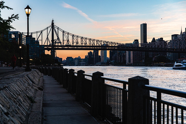 Sunset on the East River