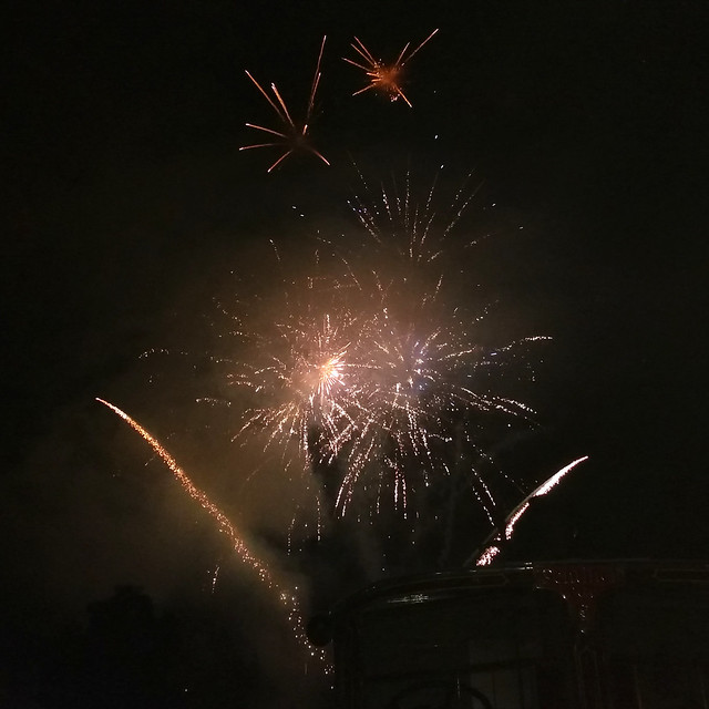 Fireworks @ Llanfair Caereinion