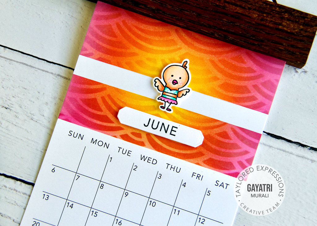June Calendar closeup1