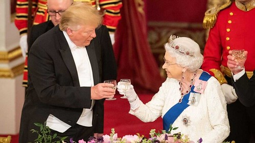 Donald Trump Queen Elizabeth II State Dinner Buckingham Palace 030619 | by arthur.strathearn