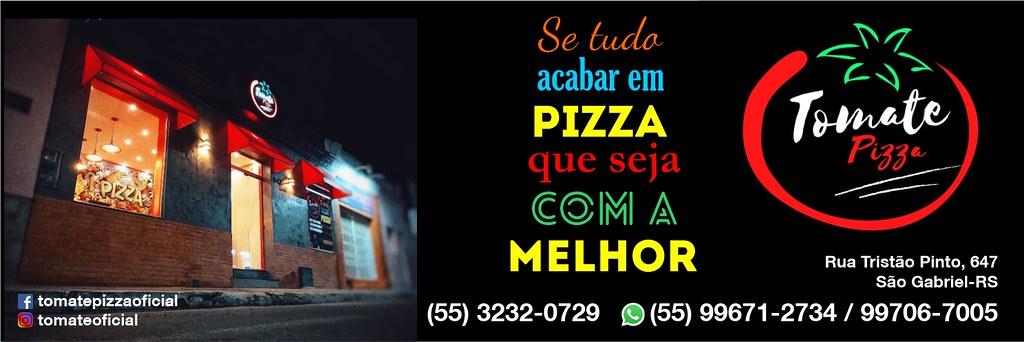 Tomate Pizza - uma novidade em São Gabriel, conheça!