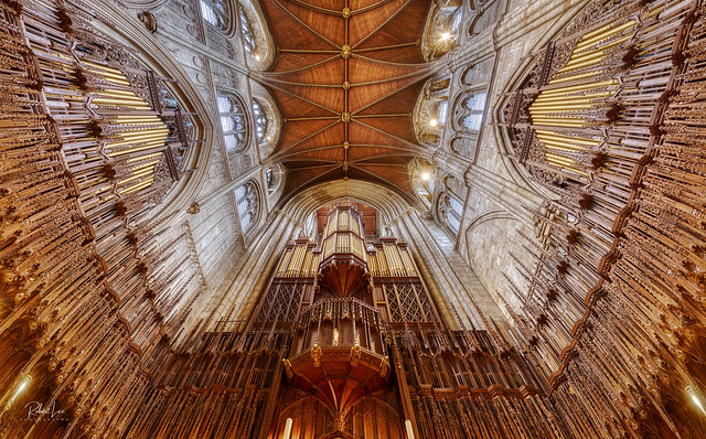 The Pipe Organ, Ripon Cathdral