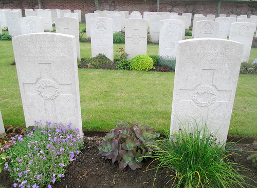 Maori Graves, Birr Cross Roads Cemetery, Belgium