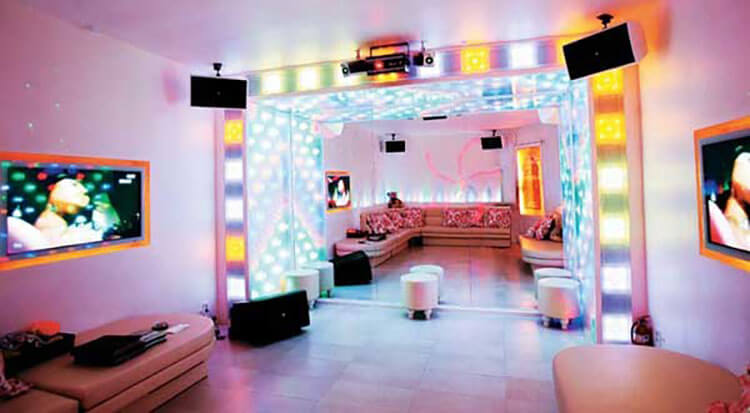 karaoke rooms