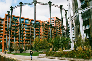 Gasholder Park, St Pancras Basin | by harold.whatever